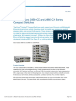 Cisco Catalyst 3560-CX and 2960-CX Series