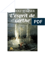 L'Esprit de Goethe