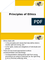 2- Principles of Ethics