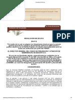 Resolucion 092 de 2014 Lineamientos Tecnicos Para Revision de STV