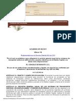 Acuerdo 470 de 2011 Revision General Anual de Transporte Vertical
