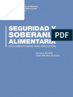 SEGURIDAD Y SOBERANIA ALIMENTARIA