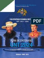 Plan Estratégico de Desarrollo Institucional UNT 2012 - 2024