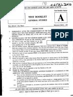 2010 CSAT Prelims Paper(Visionias.net)