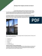 MULTIVER-Spontaneous Glass Breakage-causes Solution En