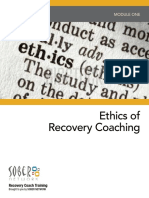 Ethics in Recovery Coaching