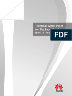 Technical White Paper for IPv6 Access