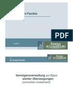 Banque de Luxembourg Bl Global Flexible