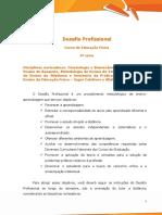 Desafio Profissional - Educação Física 5ª Série