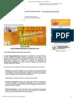Convocatoria Revista Praxis Pedagógica - Noticias - Portal UNIMINUTO