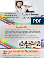 Teorias explicativas del acoso sexual