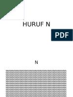 Huruf N