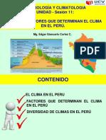 Sesion 11 - El Clima en El Perú