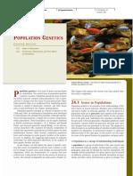 24 Population Genetics