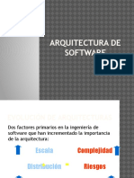 Arquitectura vs Diseño