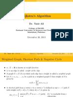 Dijkastra Algorithm 34