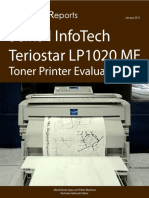 Seiko Infotech Teriostar LP1020MF Toner Printer
