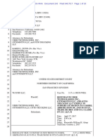 Uber's Motion to Compel Arbitration