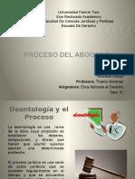 Deontologia y El Proceso