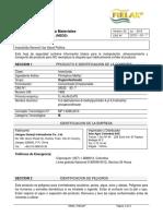 Hoja de Seguridad - Pirlax 2015 (1)