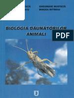 BIOLOGIA DAUNATORILOR ANIMALI