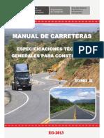 Tomo II  Especificaciones Tecnicas Generales para Construccion - EG-2013.pdf