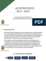 Diapositivas Plan Estrategico FCA 2017 2019