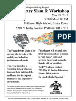 popup poetry slam   workshop may 23 2017