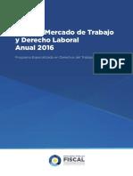Informe Mercado de Trabajo 2016