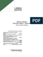 Manual Tecnico Excavadora 200 Dlc Reparaciones