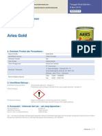 MSDS Aries Gold