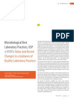 Apr May2011 Microbiological Best Laboratory Practices Usp 1117