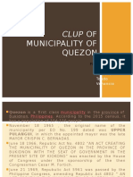 Clup of Municipality of Quezon Bukidnon