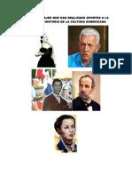 SEIS PERSONAJES QUE HAN REALIZADO APORTES A LA CULTURA O HISTORIA DE LA CULTURA DOMINICANA.docx
