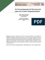 O Impacto Do Gerenciamento de Processos de Negócio Nos Custos Organizacionais