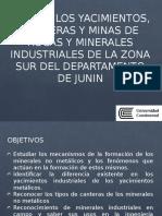 Visita Tecnica a Yacimientos y Canteras 2017
