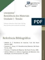 Resistencia Materiais - 1 Tensão (1)