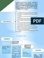 Albumina y Plaquetas