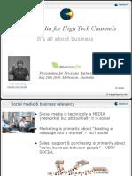 Social Media for High-Tech Partners