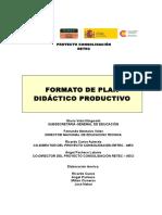 Formato Plan Didáctico Productivo