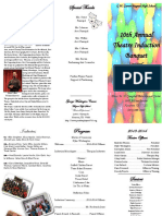 theatre banquet program 2014