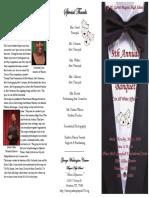 theatre banquet program 2013