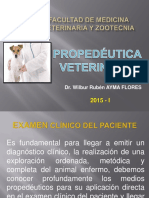 Propedutica veterinaria Examen Clinico