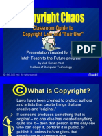 Copyright Chaos - for use with students