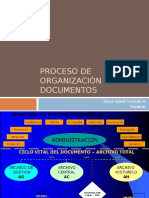 Organización Documental- Clasificación Documental