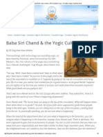 Baba Siri Chand & the Yogic Culture _ 3HO Kundalini Yoga - A Healthy, Happy, Holy Way of Life