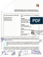 Acta 4 Comisión Negociadora Revisión Parcial VI Convenio Colectivo