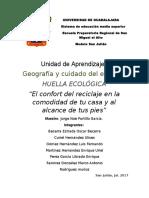 Huella Ecologica Taburete Reciclado