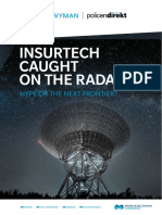 Oliver Wyman and Policen Dirket InsurTech Caught on the Radar Report