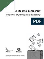 Breathing Life into Democracy